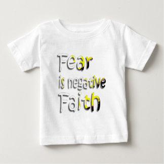 Fear Is Negative Faith 2 Tee Shirts