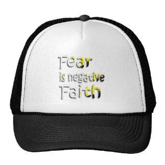 Fear Is Negative Faith 2 Trucker Hat