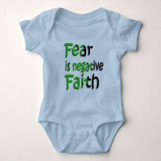 Fear Is Negative Faith 3 Shirts