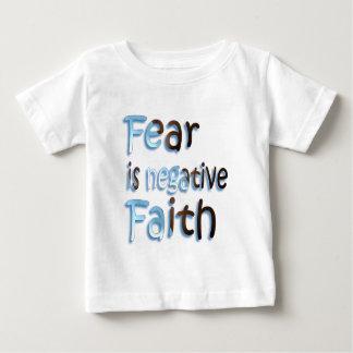 Fear Is Negative Faith T Shirt