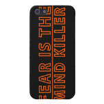 Fear Is The Mind Killer Video Game i iPhone SE/5/5s Case
