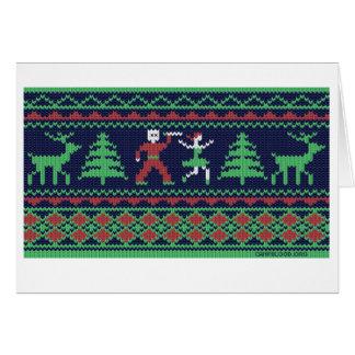 Fear Isle Holiday Greeting Card