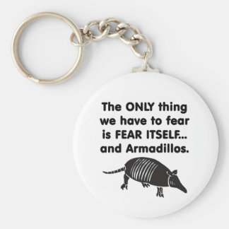 Fear it Itself Armdillos Keychain