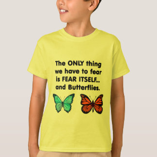 Fear Itself Butterflies T-Shirt