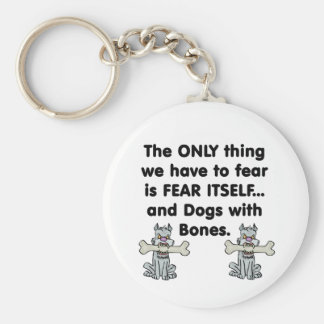 Fear Itself Dogs with Bones Keychain