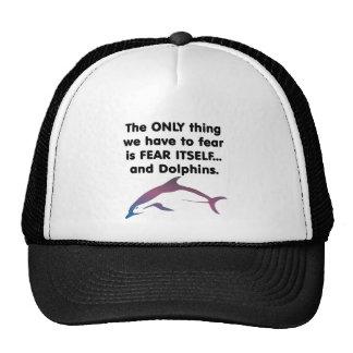 Fear Itself Dolphins Trucker Hat