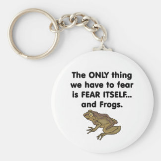 Fear Itself Frogs 1 Basic Round Button Keychain