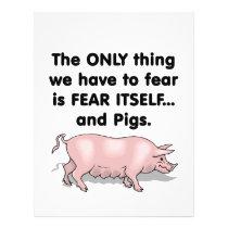 Fear Itself Pigs 3 Flyer