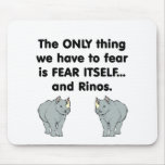 Fear Itself Rinos Mouse Pad