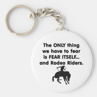 Fear Itself Rodeo Riders Keychain