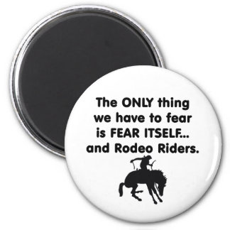 Fear Itself Rodeo Riders 2 Inch Round Magnet