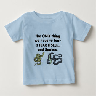 Fear Itself Snakes Baby T-Shirt