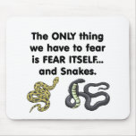 Fear Itself Snakes Mouse Pad