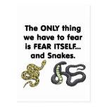 Fear Itself Snakes Postcard