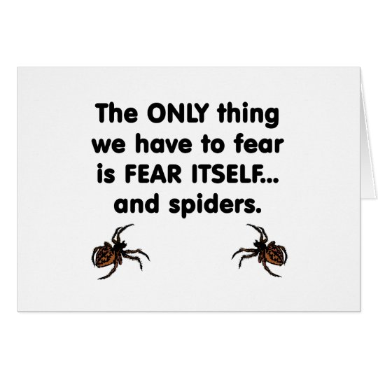 Fear Itself spiders Card