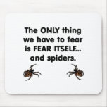 Fear Itself spiders Mouse Pad