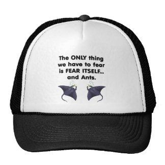 Fear Itself Sting Rays Trucker Hat