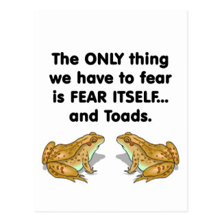 Fear Itself Toad 2 Postcard