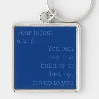 Fear Keychain