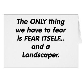 fear landscaper card