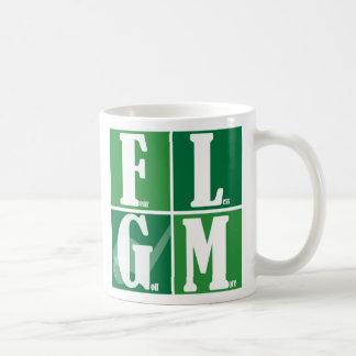 Fear Less Golf More Classic White Coffee Mug
