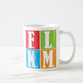 Fear Less Knit More Coffee Mug