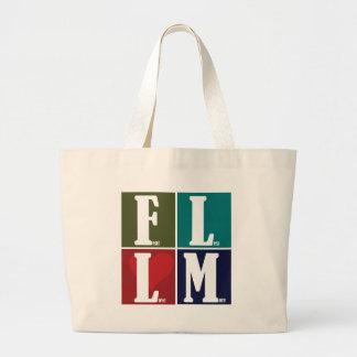 Fear Less Love More Canvas Bag