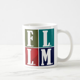 Fear Less Love More Coffee Mug