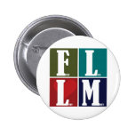 Fear Less Love More Pinback Buttons