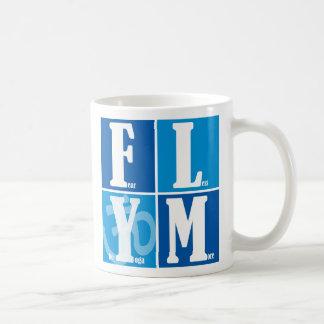 Fear Less Yoga More Coffee Mug