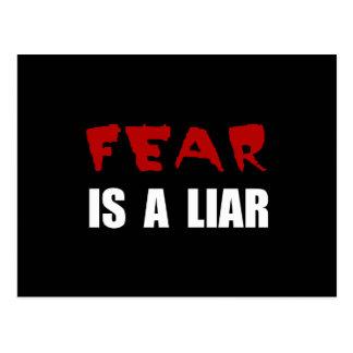 Fear Liar Postcard