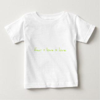 fear + love = love tshirt