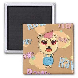 Fear ME! 2 Inch Square Magnet
