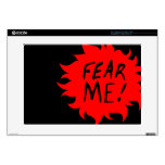 FEAR ME! LAPTOP DECAL