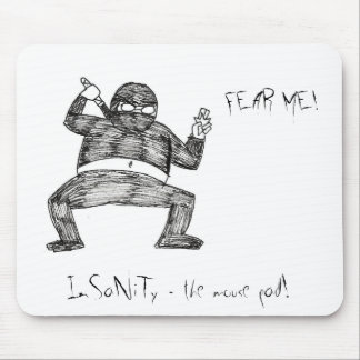 FEAR ME! MOUSE PAD