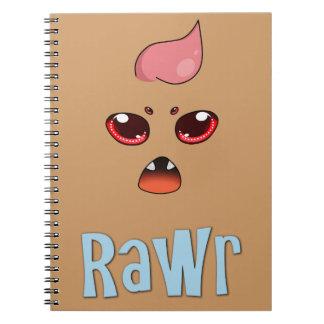 Fear ME! Spiral Notebook