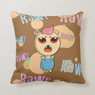Fear Me! Throw Pillow