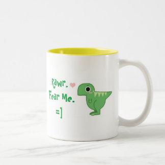 Fear Me Two-Tone Coffee Mug