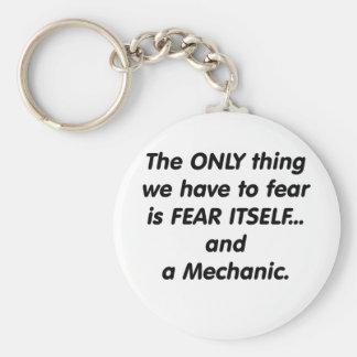 Fear Mechanic Key Chains