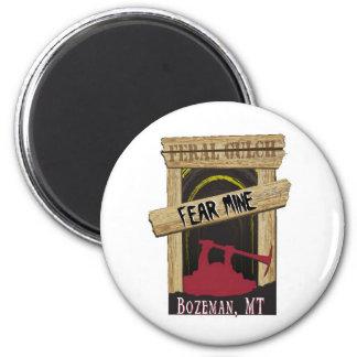 Fear Mine 2 Inch Round Magnet
