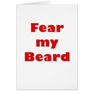 Fear my Beard Card