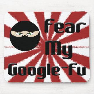 Fear My Google Fu! Mouse Pad