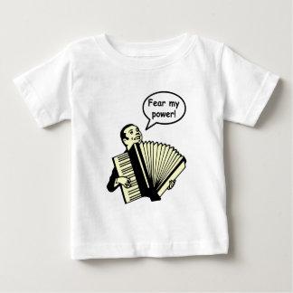 Fear my power (Accordion) Baby T-Shirt