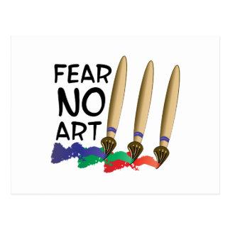 Fear No Art Postcard