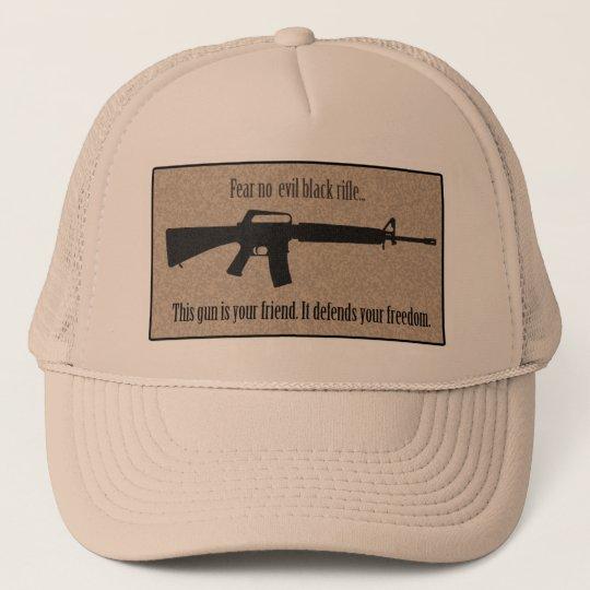 40da3f14972 Fear No Evil Black Rifle Hat