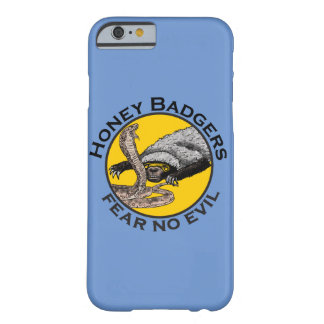 Fear No Evil Honey Badger Snake Animal Art Design Barely There iPhone 6 Case