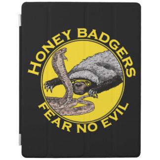 Fear No Evil Honey Badger Snake Animal Art Design iPad Smart Cover