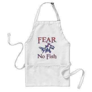 FEAR NO FISH ADULT APRON