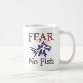 FEAR NO FISH COFFEE MUG