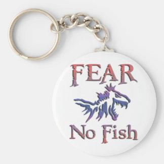FEAR NO FISH KEYCHAIN